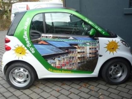 Wir tanken Sonne! Anschaffung eines Elektro-Smart