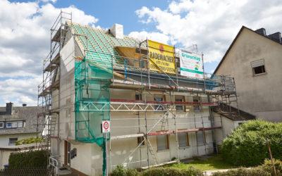 Dach- und Fassadensanierung Laaspher Straße 2